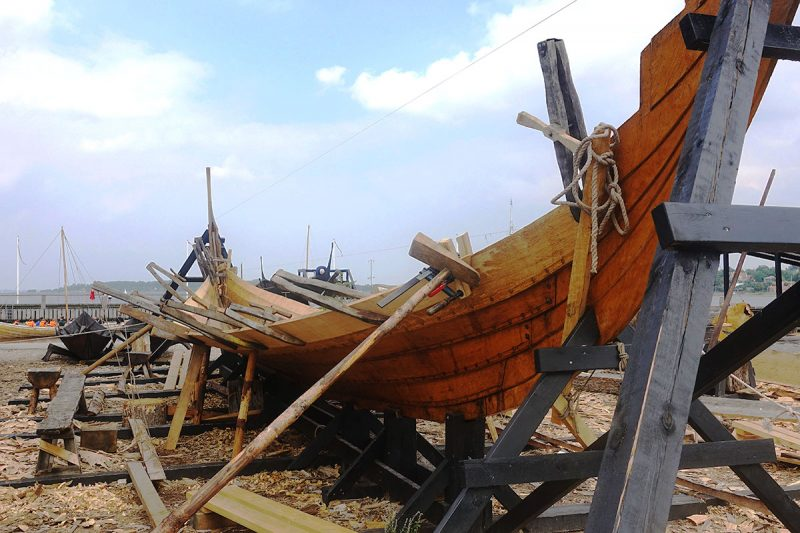 バイキングの船の作り方